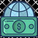 Global Cash Dollar Cash Dollar Icon