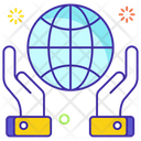 Global Charity Global Donation Charity Foundation Icon