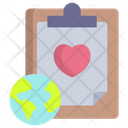 Global Charity Donation Charity Icon