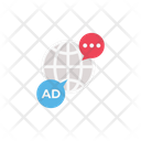 Global Chat Ads Icon