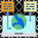 Chat World Laptop Icon