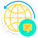 Global Chat Chatting Icon