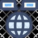 M Global Communication Icon