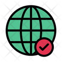 Global World Complete Icon