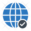 Global Check Icon