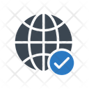 Global Check Icon