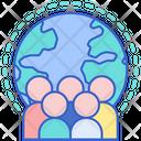 Global Citizen Global Community Citizenship Icon