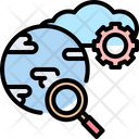 Global cloud Icon