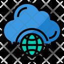 Global Cloud Icon