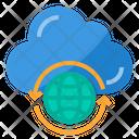 Global Internet Data Icon