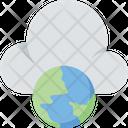 Cloud Computing Globe Cloud Icon