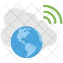 Global Cloud Access Icon