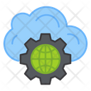 Global Cloud Management Icon