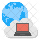 Global Cloud Network Icon