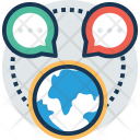 Global News Communication Icon