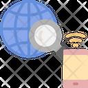 Smartphone Global Earth Icon
