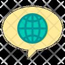 World Social World Global Icon