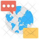 Global Communication Internet Icon