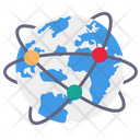 Global World Communication Icon