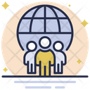 Global Communication Business Community Business Icon