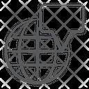 Global Communication Worldwide Communication International Message Icon
