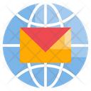 Email Global Mail Icon