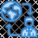 Global Communication Global Communication Icon