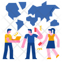 Global Communication Communication Meeting Icon