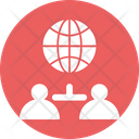 Global Communication Global Business World Wide Chat Icon