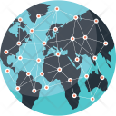 Global Communication Connection Icon
