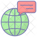 Global Communications Network Internet Icon
