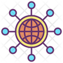 Iglobal Community Global Community Global Communication Icon