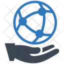 Global Community Global Network Global Connection Icon