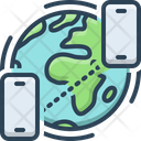 Global Conference Call Icon