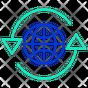 Globm Global Connection Global Icon