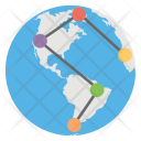 Global Worldwide Connections Icon