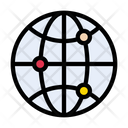 Global Network Connection Icon