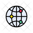 Global World Connection Icon