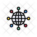 Browser Global Connection Icon