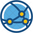 Global Connection Icon