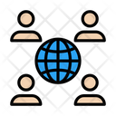 Global Connection Online Icon
