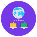 Shared Global Network Global Network Global Connection Icon
