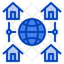 Work At Home Icon