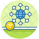 Global Connectivity Global Network Www Icon