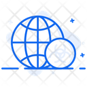 Global Contamination Global Warming Global Pollution Icon