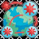 Global Coronavirus Icon