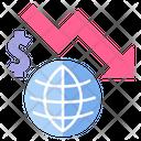 Global crisis Icon