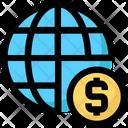 Global Crowdfunding Icon