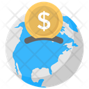 Global Currency Investment Icon