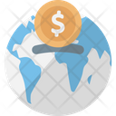 Global Currency Global Investment International Finance Icon